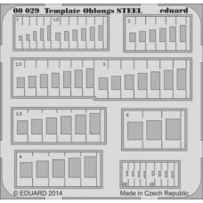 Oblongs scribing template STEEL