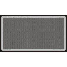 Metalliverkko - gauze/ Rhomb type 1 6x6