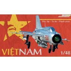 MiG-21 Vietnam LIMITED EDITION 1/48