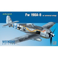 Focke-Wulf Fw 190A-8 with universal wings Weekend Edition 1/72