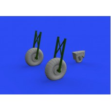 Do 17Z wheels 1/48 for Eduard / ICM kit 1/48