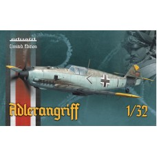 ADLERANGRIFF Messerschmitt Bf 109E-1/3/4 - LIMITED EDITION 1/32