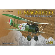 Il Magnifico - Hanriot HD. I in Italian service LIMITED EDITION 1/48