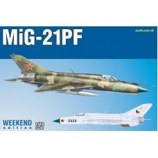 MiG-21PF Weekend Edition 1/72