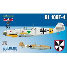 Messerschmitt Bf 109F-4 Weekend Edition 1/48