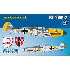 Messerschmitt Bf 109F-2 Weekend Edition 1/48
