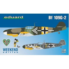 Messerschmitt Bf 109G-2 Weekend Edition 1/48