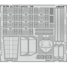 Do 217N-1 exterior 1/48 Photo-etch for ICM kit