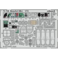 Beaufort Mk.I 1/72 Photo-etch for Airfix kit