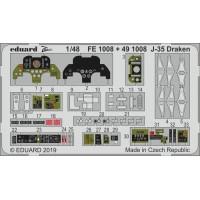 J-35 Draken Photo-etch 1/48 for Hasegawa kit