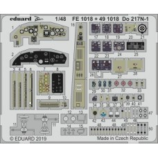 Do 217N-1 1/48 Photo-etch for ICM kit