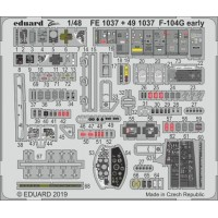 F-104G early photo-etch 1/48 for Kinetic kit