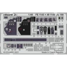 Ju 188 Photo-etch 1/48 for Revell kit