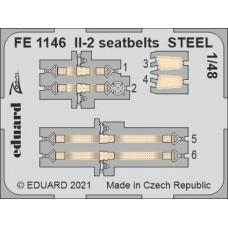 Il-2 seatbelts STEEL 1/48 for Zvezda kit