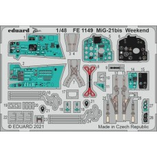 MiG-21bis Weekend Photo-etch 1/48 for Eduard kit