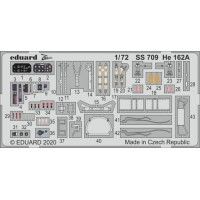 He 162A 1/72 Photo-etch for Special Hobby kit