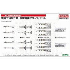 U.S. Air-to-Air Missile Set 1/72