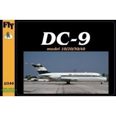 McDonnell Douglas DC-9-15 Fuerza Aerea Venezolana 1/144