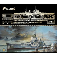 HMS Prince of Wales 1941 Deluxe Edition 1/700