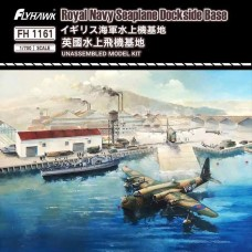 Royal Navy Seaplane Dockside Base 1/700