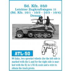 ATL-50 Sd Kfz. 250/ Leichter Zugkraftwagen 1t. (Sd. Kfz 10/1- 10/2 - 10/3 - 10/4) Demag