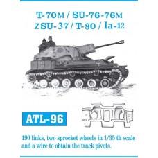 ATL-96 T-70M / SU-76 - 76M / ZSU-37 / T-80 / Ia-12