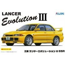 Mitsubishi Lancer Evolution III GSR w/Masks 1/24
