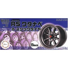 RS Watanabe & Slick Tire 15 inch 1/24