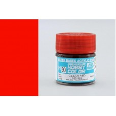 H090 Clear Red