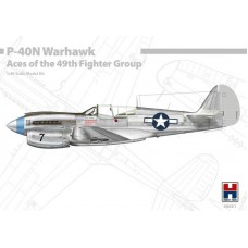 Curtiss P-40N Warhawk Aces of the 49th Fighter Group 1/48