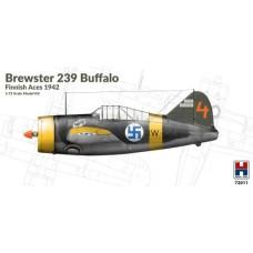 Brewster 239 Buffalo Finnish Aces 1942 1/72