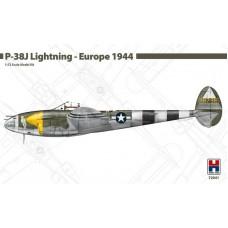 Lockheed P-38J Lightning - Europe 1944 1/72