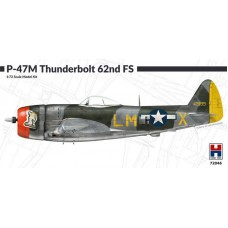 Republic P-47M Thunderbolt 62nd Fighter Squadron 1/72
