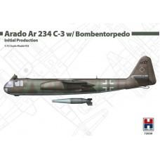 Arado Ar 234 C-3 w/ Bombentorpedo Initial Production 1/72