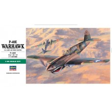 Curtiss P-40E Warhawk (U.S. Army Air Force Fighter) 1/48