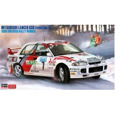 "Mitsubishi Lancer GSR Evolution III 1996 Swedish Rally winner ""Tommi Mäkinen""1/24"
