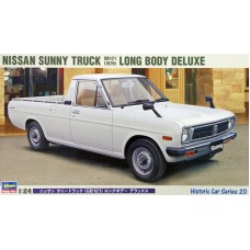 1979 Nissan Sunny Truck (GB121) Long Body Deluxe 1/24