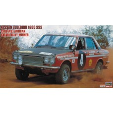 Nissan Bluebird 1600 SSS 1970 East African Safari Rally Winner 1/24