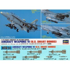 Aircraft Weapons: VI U.S. Smart Bombs 1/72