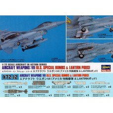 Aircraft Weapons: VII U.S. Special Bombs & Lantirn Pods 1/72