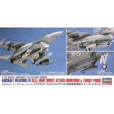 Aircraft Weapons: IX U.S. Joint Direct Attack Munitions & Target Pods 1/72