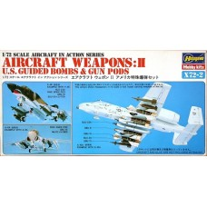 Aircraft Weapons: II U.S. Guided Bombs & Gun Pods 1/72
