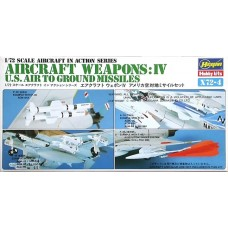 Aircraft Weapons: IV U.S. Air To Ground Missiles 1/72