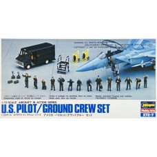 U.S. Pilot/Ground Crew Set 1/72