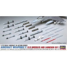 Aircraft Weapons: V U.S. Missiles and Launcher Set
