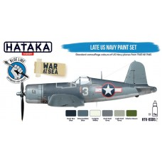 HTK-BS05.2 Late US Navy paint set