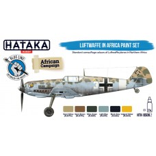 HTK-BS06.2 Luftwaffe in Africa paint set