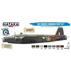 HTK-BS102 RAF Bomber Command paint set