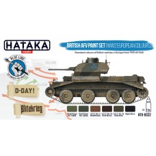 HTK-BS22 British AFV paint set (WW2 European colours)