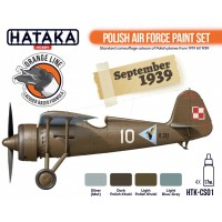 HTK-CS01 Polish Air Force paint set